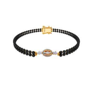 Gold Mangalsutra Bracelet