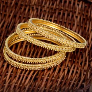 Gold Bangels