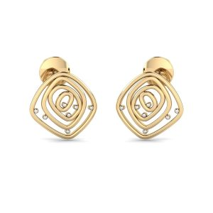 Square Party Ware Earring